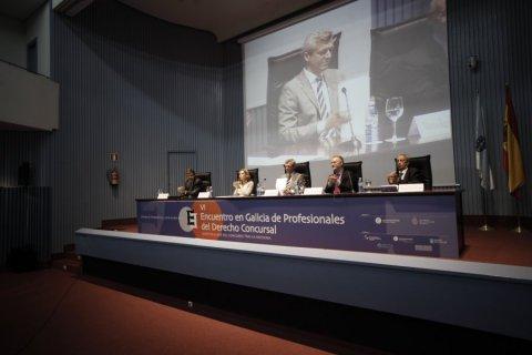 Apertura institucional - VI Encontro en Galicia de profesionais do Dereito concursal